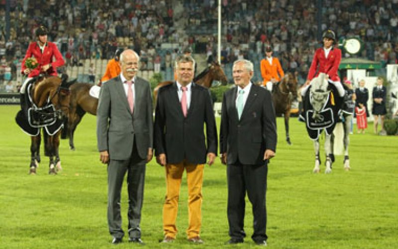CHIO Aachen: Belgian wins the Mercedes-Benz Nations' Cup