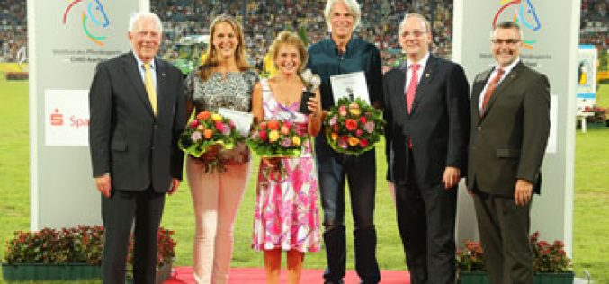 CHIO Aachen: The Silver Camera goes to Pam Langrish