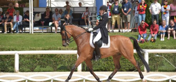 Germany in the lead for the Juniors and Netherlands for Young Riders Team competition in the provisional results