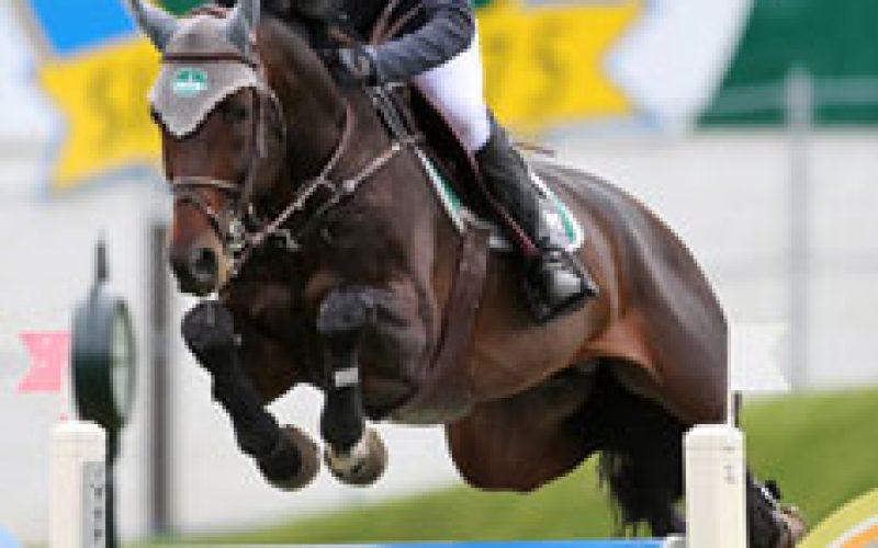 Mexican triumphs in the Grand Prix at Spruce Meadows: Cristina Laranjeiro course designer