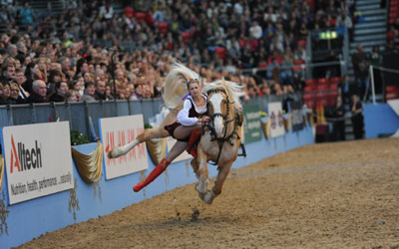 Spectacular line up announce for Olympia, the London International horse show 2014