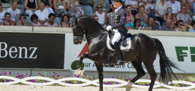 Emphatic victory for Germany in FEI Nations Cup™ Dressage at Aachen