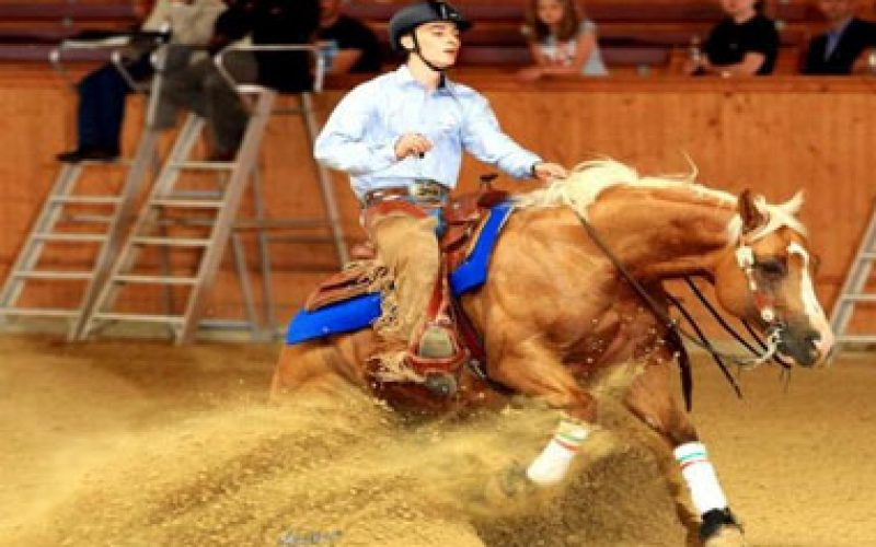 Gold for Italy at Junior and Young Rider Reining Championships in Givrins