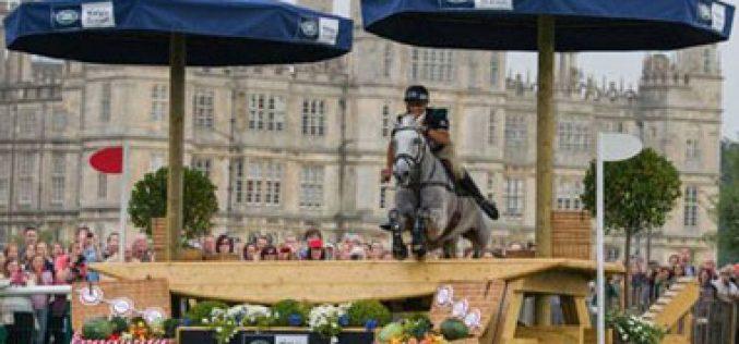 Andrew Nicholson é líder provisório no Burghley Horse Trials