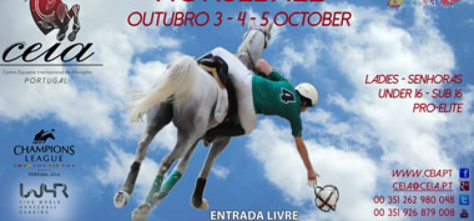16 Equipas inscritas no Champions League de Horseball 2014