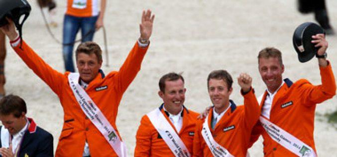 JEM 2014: Holanda conquista ouro por equipas