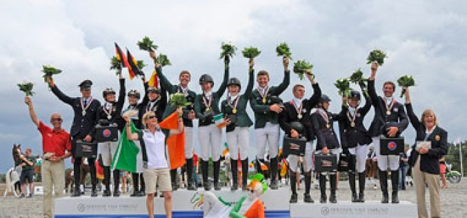 Individual gold for Germany's Hachmeister as Irish claim the team title at Vale Sabroso