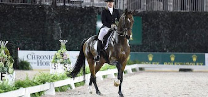 Isabell Werth and El Santo Win 2014 Central Park Dressage Challenge