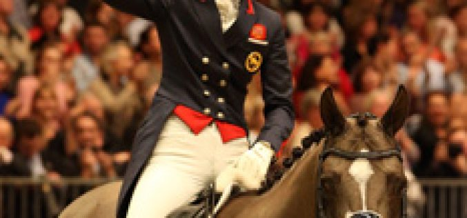 Dujardin and Valegro set Olympia alight with a double of new world records