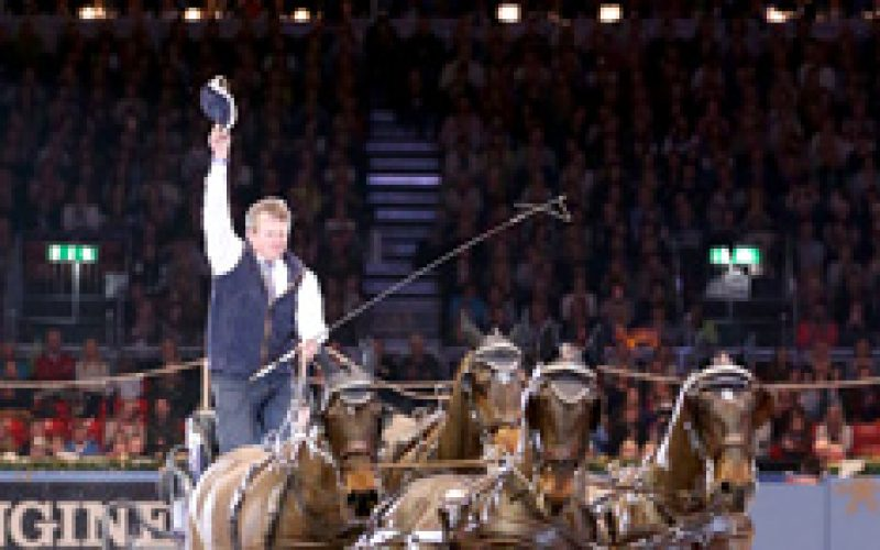 Boyd Exell reclaims Olympia World Cup Driving Crown