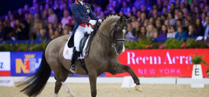 Dujardin and Valegro produce another amazing performance in Amsterdam (VIDEO)