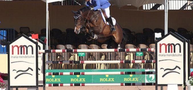 Doda de Miranda and AD Amigo B Win $34,000 1.45m Speed at the 2015 Winter Equestrian Festival