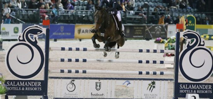 Kent Farington and Blue Angel victorious in the Grand Prix (VIDEO)