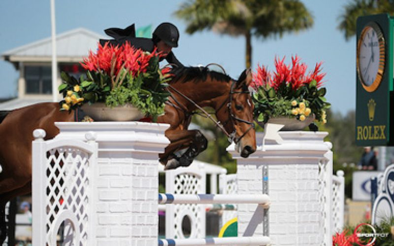 Jessica Springsteen and Davendy S Victorious in the WEF speed class
