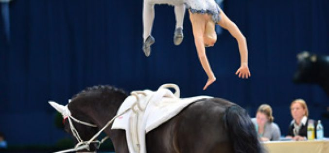 World's best athletes ready to fly high at FEI World Cup™ Vaulting Final