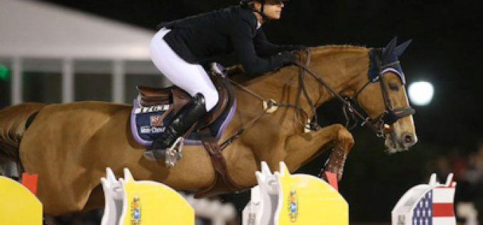 Marie Hecart and Myself de Breve Win $372,000 FEI World Cup™ Grand Prix
