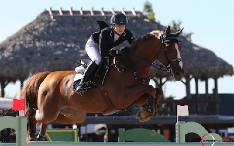 Lucy Davis and Barron Top $127,000 Ruby et Violette WEF