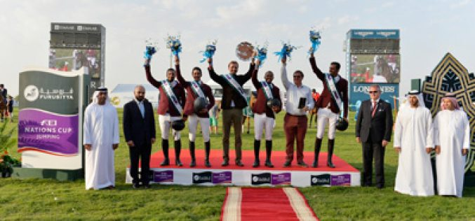 Qatar scoops Furusiyya and Olympic qualification with win in Abu Dhabi