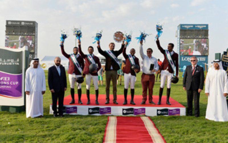 Qatar scoops Furusiyya and Olympic qualification with win in Abu Dhabi