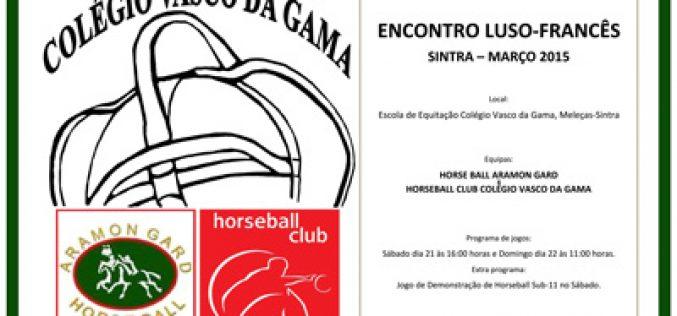 Colégio Vasco da Gama recebe equipa de Horseball Sénior francesa