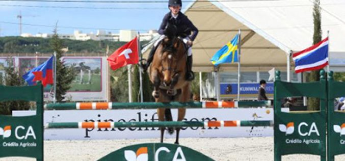 Sanne Thijssen brilhou na prova rainha em Vilamoura