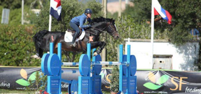 Nicole Pavitt ganha o Grande Prémio para Cavalos de 6 Anos em Vilamoura