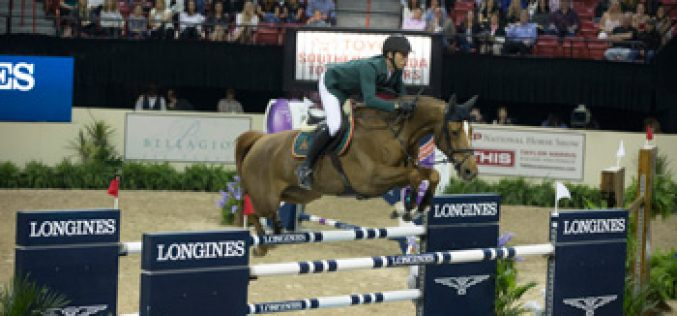 Guerdat Gallops to the Top in the 2015 Longines FEI World Cup