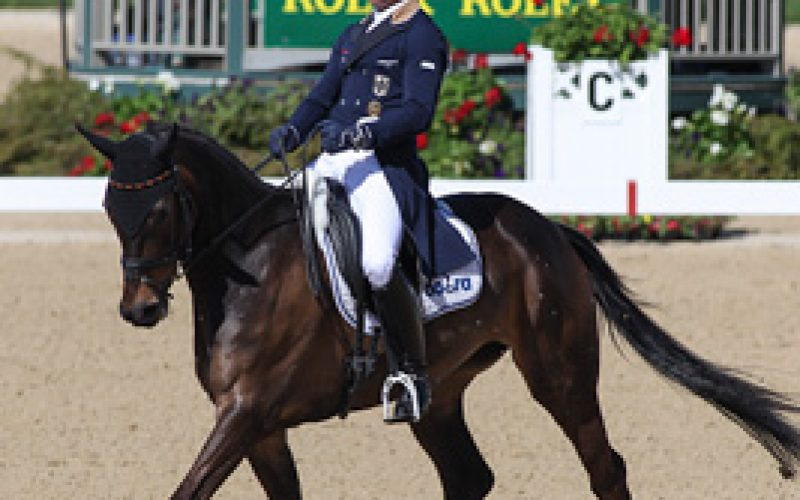 Jung Rides To Early Lead at Rolex Kentucky Three-Day Event