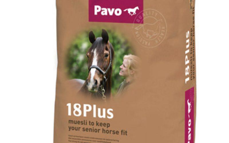 Pavo 18Plus mantém Cavalos veteranos em forma