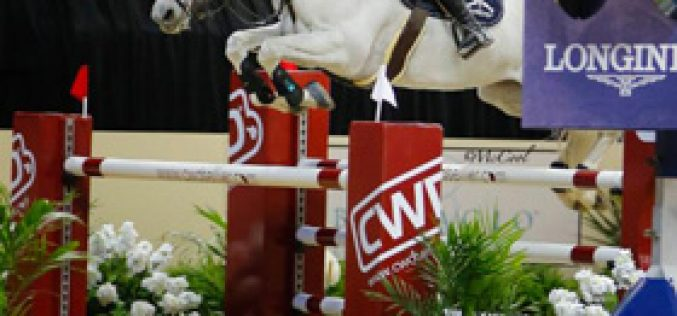 It's Warming Up in Las Vegas – Show Jumpers Set to Go at 2015 FEI World Cup™ Finals