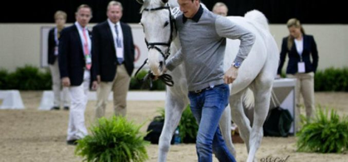 Horse Inspection Held at 2015 FEI World Cup™ Finals