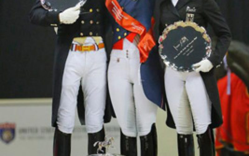 Las Vegas – Charlotte Dujardin Crowned Champion at 2015 Reem Acra FEI World Cup™