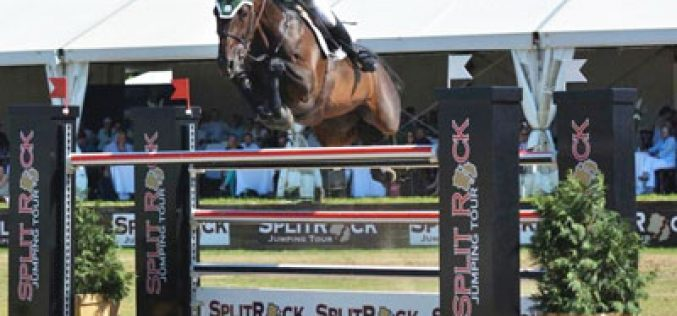 Kevin Babington is Victorious  in the $100,000 CSI 3* Grand Prix