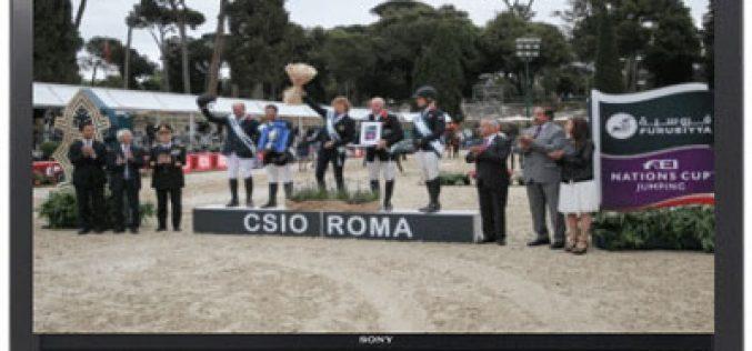 EUROSPORT: Hoje a Taça das Nações de Roma