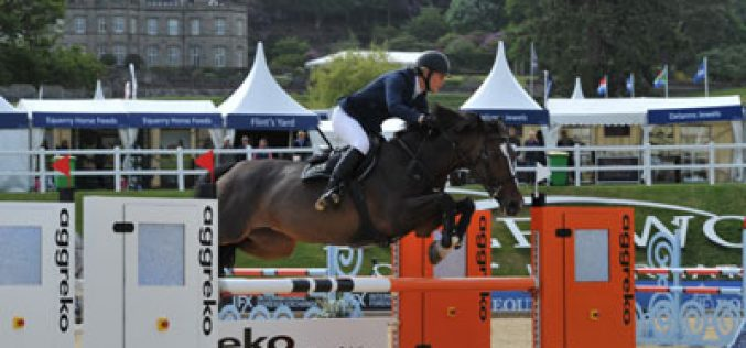 Laura Renwick wins opening class at Bolesworth International