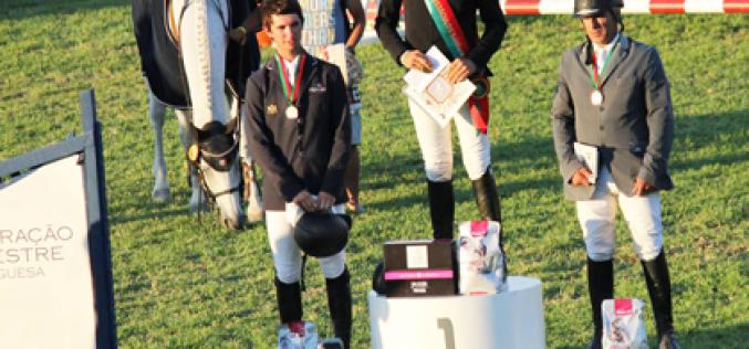 António Matos de Almeida Campeão Nacional de Saltos de Obstáculos 2015