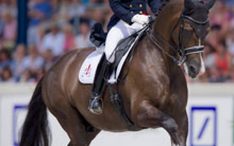 Charlotte Dujardin is looking forward to the old rivals