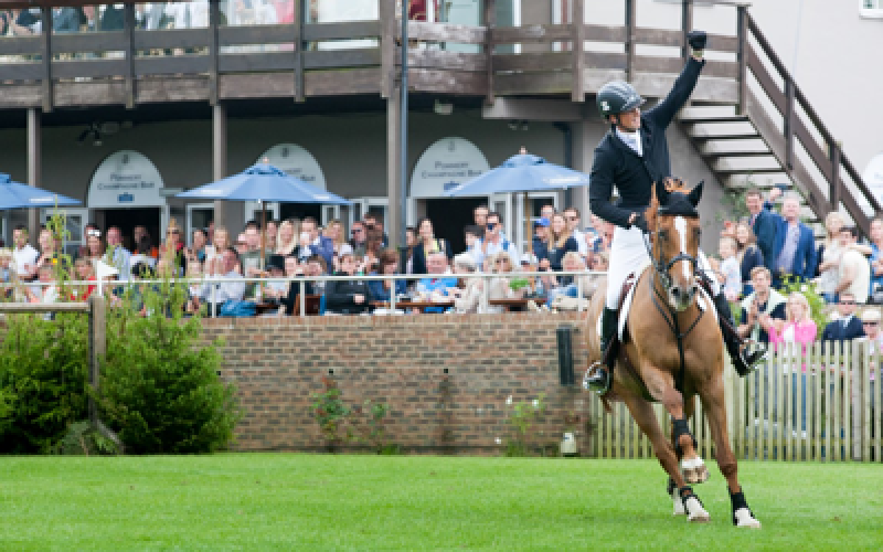 Trevor Breen secured a back-to-back win on Sunday's Equestrian.com Derby at Hickstead
