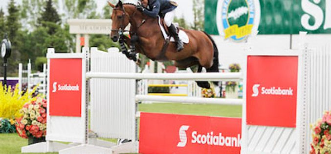 Kent Farrington and Gazelle Triumph in Scotiabank Cup at Spruce Meadows