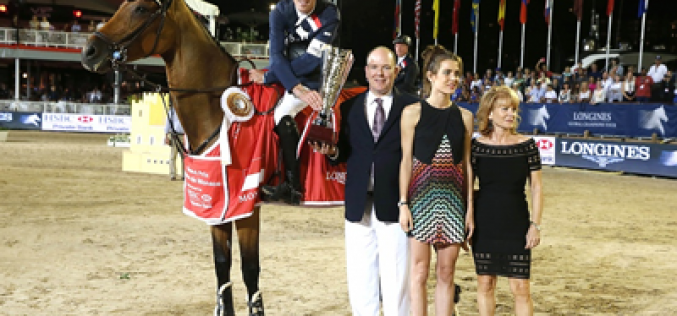 Scott Brash a prince in the Grand Prix of Monaco