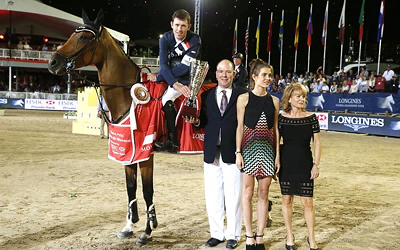 Scott Brash a prince in the Grand Prix of Monaco