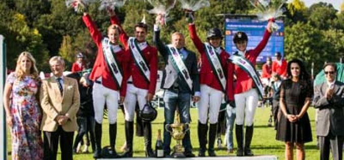 Belgium claim first win in the Furusiyya FEI Nations Cup™ of Great Britain