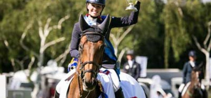 Chloe Winchester makes winning debut in Queen's Cup