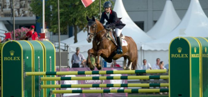 Aachen 2015: Ingrid Klimke takes the lead after the Jumping test phase of the CICO 3*