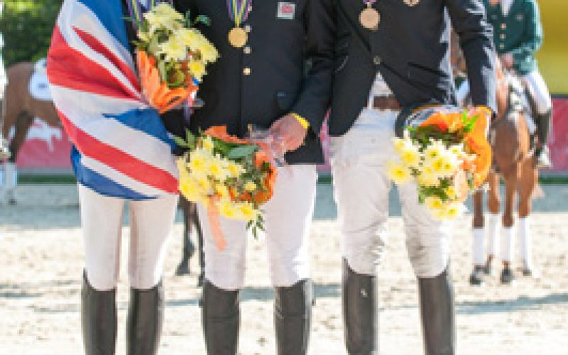 Double-gold and individual silver for dominant British at Strzegom