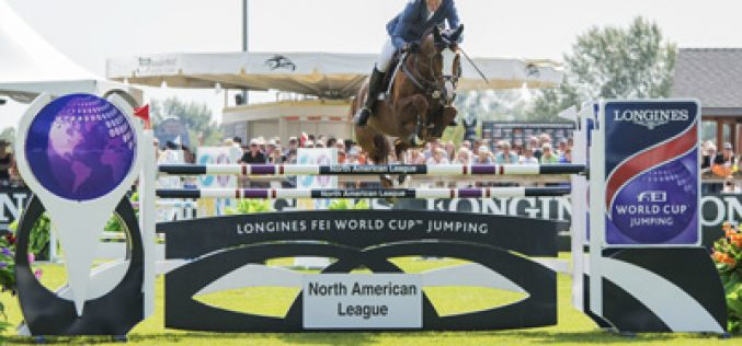 Rich Fellers and Flexible win Longines FEI World Cup™ Jumping North American League