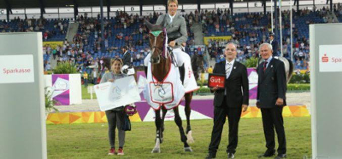 Aachen 2015: «Lord Chambertin» conquista a Taça Sparkassen para cavalos novos; «Cacharel» em 11º lugar