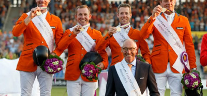 Aachen 2015: Dutch snatch gold in final-round team thriller