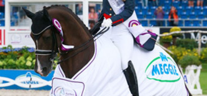 Dujardin does a Special double on dramatic day in Aachen