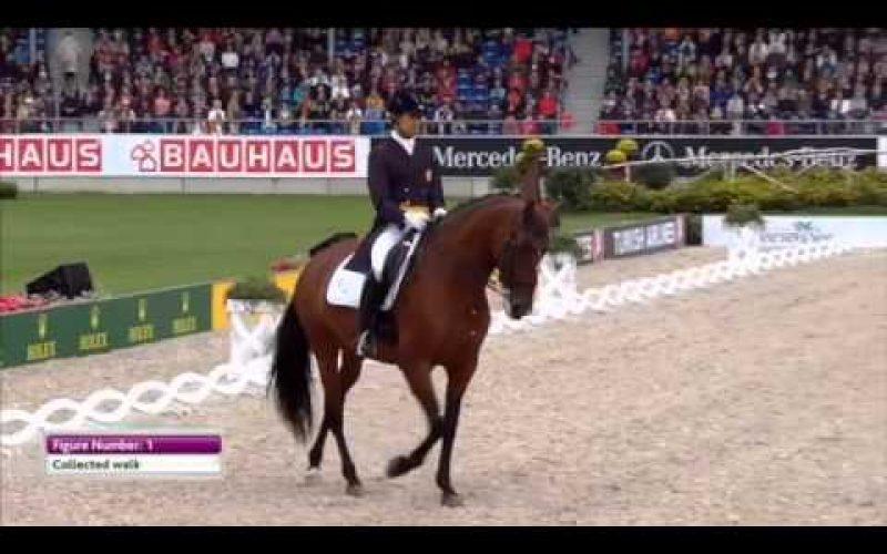 Aachen 2015: Gonçalo Carvalho – G.P. Kür (72,768%)